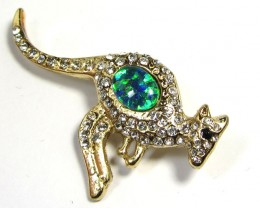 STYLISH OPAL  BROOCH CSS 229