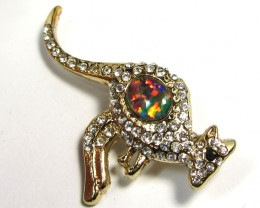 STYLISH OPAL  BROOCH CSS 232