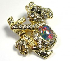 STYLISH OPAL  BROOCH CSS 245