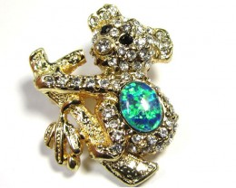 STYLISH OPAL  BROOCH CSS 249