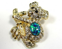 STYLISH OPAL  BROOCH CSS 250
