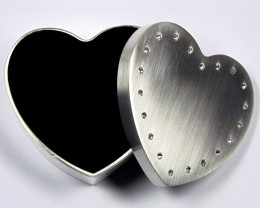 HEART JEWELRY TRINKET BOX  GRR 605