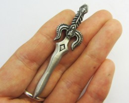 FREE SHIPPING QUALITY MADE PEWTER PENDANT  QT 605