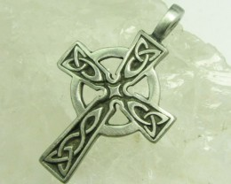 FREE SHIPPING QUALITY MADE PEWTER PENDANT  QT 606