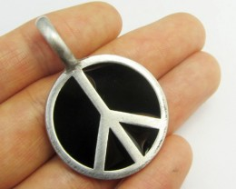 FREE SHIPPING QUALITY MADE PEWTER PENDANT  QT 609