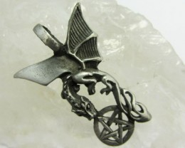FREE SHIPPING QUALITY MADE PEWTER PENDANT  QT 612
