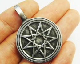 FREE SHIPPING QUALITY MADE PEWTER PENDANT  QT 615