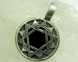 FREE SHIPPING QUALITY MADE PEWTER PENDANT  QT 616