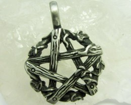 FREE SHIPPING QUALITY MADE PEWTER PENDANT  QT 618