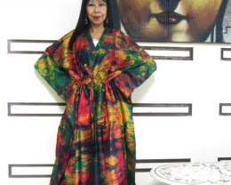 Silk Kaftan Dress  Skirt OP1401