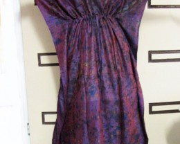Purple Hues Silk Kaftan Dress  OP 1402