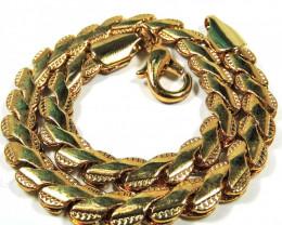 Italian designed gold Bracelet  18.5 cm CSS 252