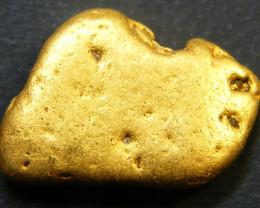 5.4  Grams Australian Bendigo Gold Nugget LGN 34