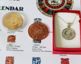 End of world Bitcoin and Mayan  Gift set-for person who has everything
