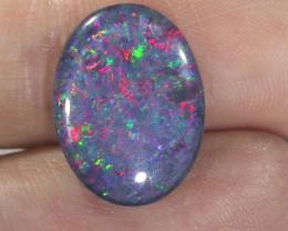 Gem  Fire Australian Triplet Opal Bu 861