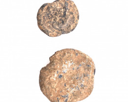 2 xHoly Land  6th century Judean Lead Bulla  CP 28