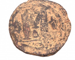 Ancient roman Byzantine AE Follis Coin   CP 31