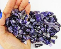 Beautiful Tumbled Amethyst  stones  BU 613