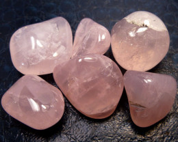 Beautiful  Rose Quartz Tumbled stones