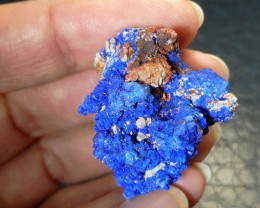 Beautiful Moroccan Azurite Specimen  RT  2025