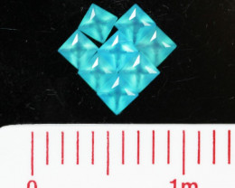 2.2 Cts pacrel Sq 4x4 mm chalcedony GG 1745