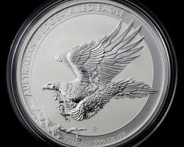 2015 australian wedge tail eagle one ounce silver coin