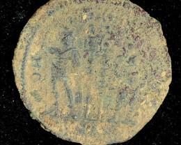 Original Desert Patina on Roman  AE coin CP 72