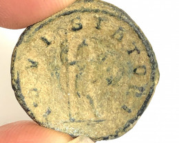 Original Desert Patina on Roman  AE coin CP 64