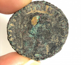 Original Desert Patina on Roman  AE coin CP 65
