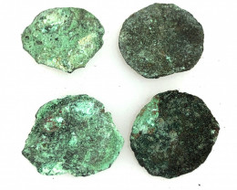 Coins  as found not cleaned Judean Bronze Platina CP 85