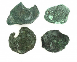 Coins  as found not cleaned Judean Bronze Platina CP 86