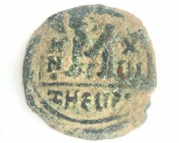 Ancient Roman  Byzantine Bronze   AE Coin   CP 73