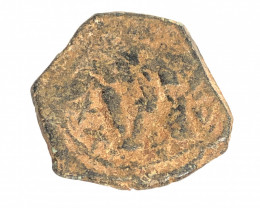 Ancient Roman  Byzantine Bronze   AE Coin   CP 78