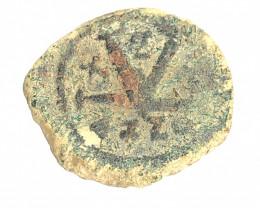 Ancient Roman  Byzantine Bronze   AE Coin   CP 82