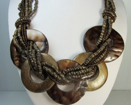 FASHION NATURAL    STYLE  NECKLACE    QT198