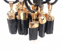 Parcel 10 x Spiritual black Tourmaline - BR 946