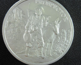 Provident Metals Prospector .999 silver one ounce-No Buyers Premium
