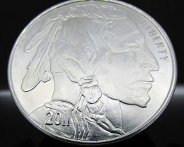 American buffalo 2011 Liberty round HALF OUNCE 99.9% Pure silver