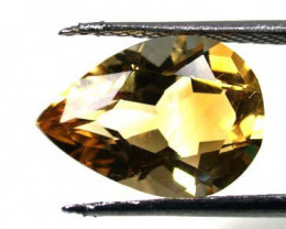 NATURAL CITRINE STONE DROP SHAPE 3.1CARATS RA178