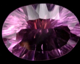 LARGE FLUROITE BRIGHT PURPLE HUES 33.70 CTS RT 1111