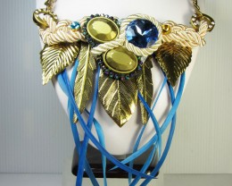 FASHION GOLDEN WILD   STYLE  NECKLACE    QT221