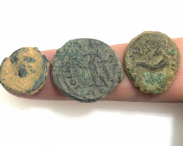 Original Desert Patina on Roman  coins Found Holy land CP102
