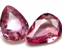 PAIR QUALITY PINK SAPPHIRES 1.15 CARATS RO839