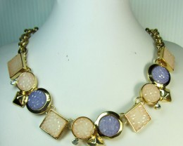 FASHION PINKS LILAC  STYLE  NECKLACE    QT231
