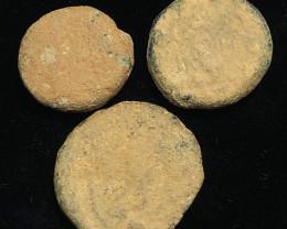 Original Desert Patina on Roman  coins Found Holy land CP 159