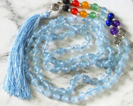 Dyed Quartz Prayer Beads WS 398