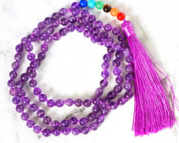 Amethyst Prayer Beads WS 382