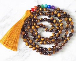 Tiger Eye Prayer Beads WS 395