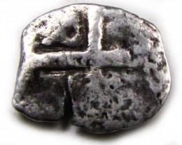 PERU LIMA PHILIP VI COB 1/2 REAL 1621-1746 AC 678