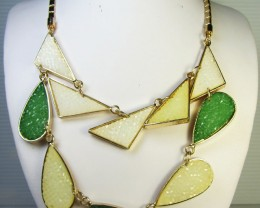 FASHION OLIVE GREENS     STYLE  NECKLACE    QT249
